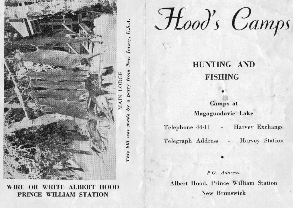 Brochure for Hoods Camps